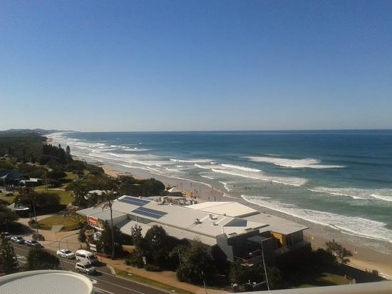 Coolum Beach, Australia: view from our balcony :)