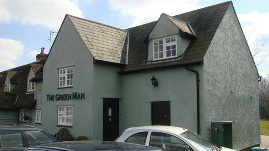 Great Dunmow, UK: The Green Man