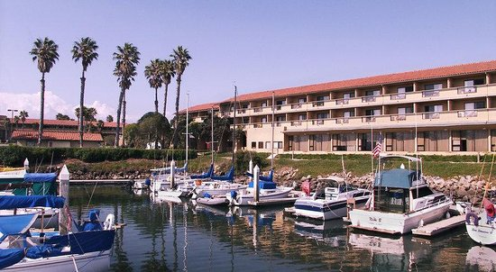 Holiday Inn Express Hotel &amp; Suites Ventura Harbor: View of Hotel from the Harbor