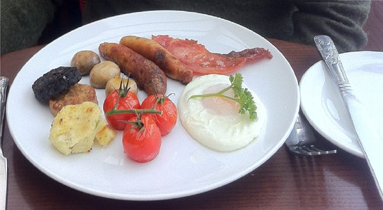 Ariel House: Full Irish Breakfast