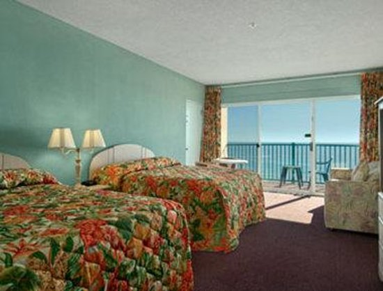 Howard Johnson Oceanfront Hotel: Ocean Front Room