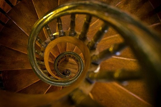 Inn and Spa at Loretto: Loretto Staircase