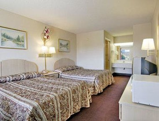 Ashburn, Джорджия: Standard Two Double Bed Room