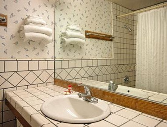 Super 8 Motel - San Mateo: Bathroom