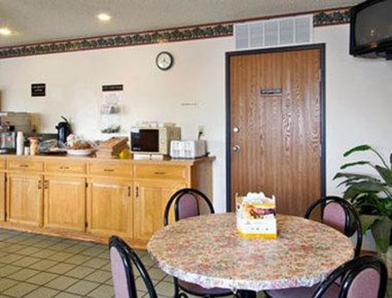 Super 8 Cedar City: Breakfast Area
