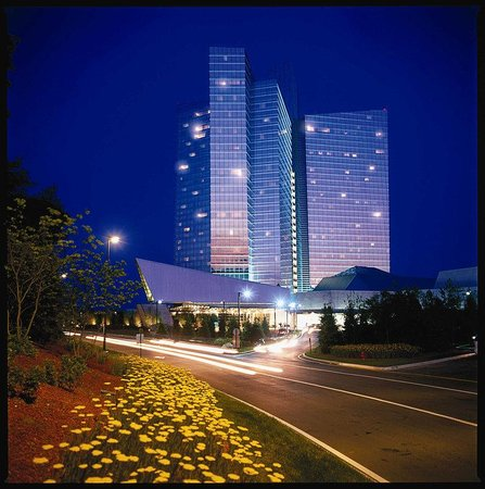 Uncasville, CT: Mohegan Sun at Night