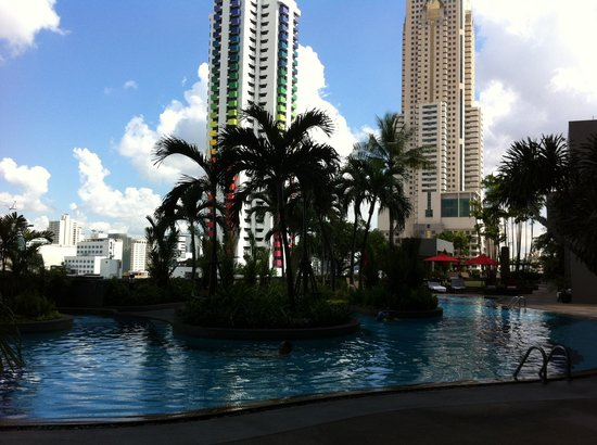 Amari Watergate Bangkok: piscine 8etage