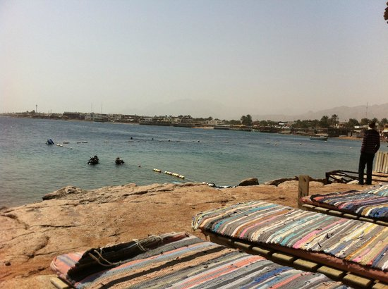 Red Sea Relax Resort: View from the Lighthouse beach area