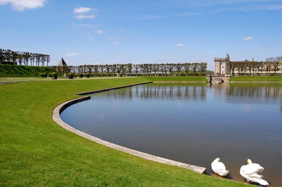 Villandry, Frankrike: .