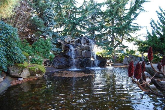 Radisson Hotel Portland Airport: Waterfall