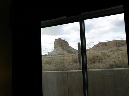 Green River, WY: First floor view towards highway.