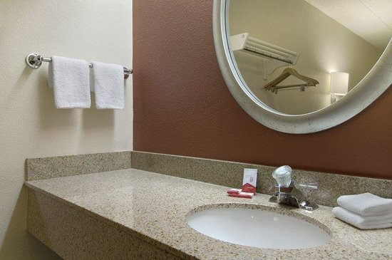 Red Roof Inn Detroit St Clair Shores: Bathroom
