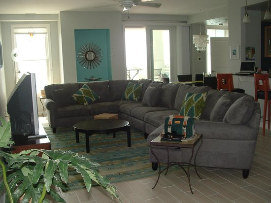 Sanctuary Realty at False Cape: Living Room