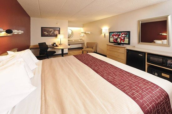 Red Roof Inn Washington DC - Oxon Hill: Superior King