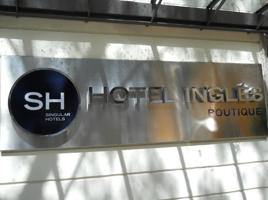 SH Ingles: entrata hotel