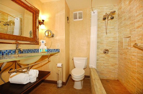 Radisson Hotel Baton Rouge: Presidential Bathroom
