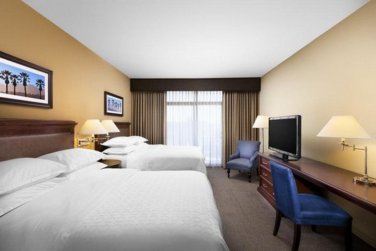 Sheraton Park Hotel at the Anaheim Resort: Double Guest Room