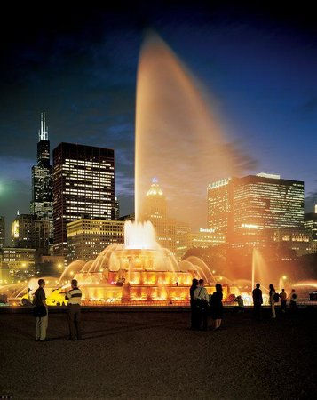 Swissotel Chicago : CCTB Buckingham_Night