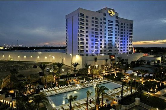 Seminole Hard Rock Hotel Tampa: Hotel Exterior