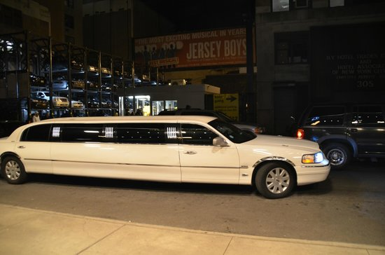 InterContinental New York Times Square: Paseo in Limo desde Lobby