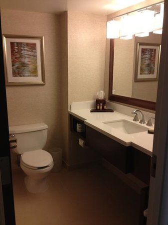 Philadelphia Airport Marriott: Bathroom