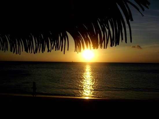 Holiday Inn Resort Aruba: Fabulous sunsets!