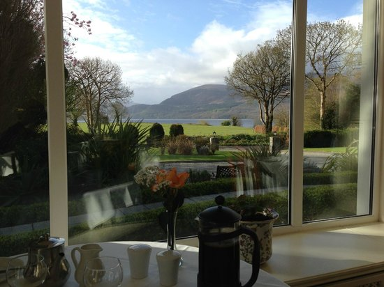 Loch Lein Country House: View from diner room