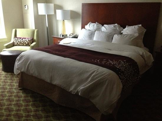 Philadelphia Marriott Downtown: Bed