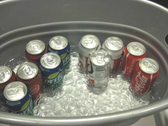 Clinton, Gney Carolina: Soda selection for Tuesday night complimentary guest reception