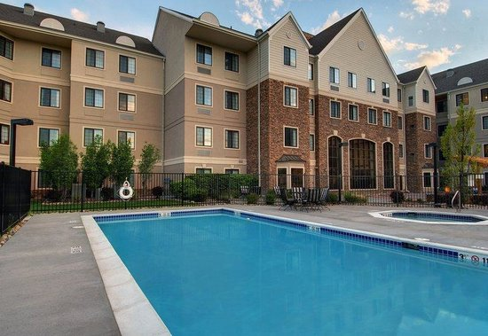 Staybridge Suites Denver-Cherry Creek: Splash around in  our heated outdoor Swimming Pool