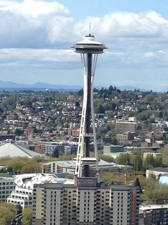 The Westin Seattle: view from Room 4230