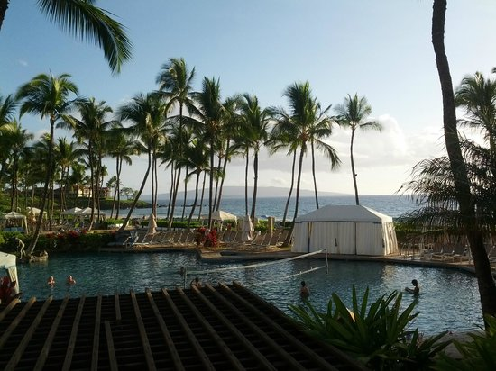 Grand Wailea - A Waldorf Astoria Resort: Pool area