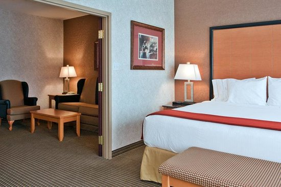 Holiday Inn Express Hotel & Suites Calgary South: King Bed Deluxe Suite