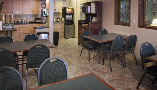Red Carpet Inn: Breakfast Room