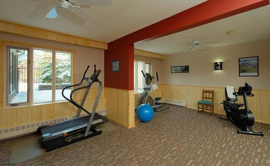 Banff International Hotel: BIHFitness Room
