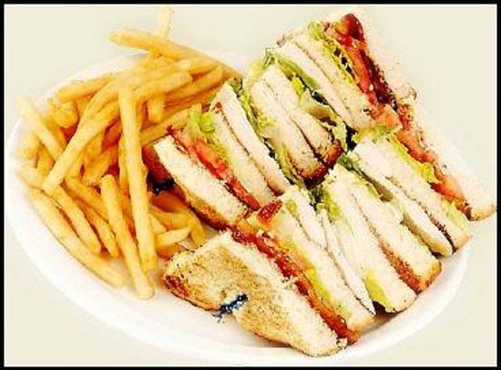 Port McNeill, Kanada: Clubhouse Sandwiches