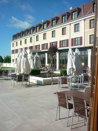 Radisson Blu Hotel at Disneyland Paris : Terrasse