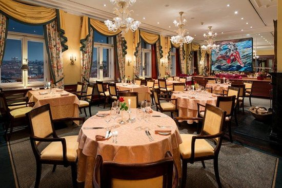 Hotel Le Palais Prague: Restaurant Le Papillon