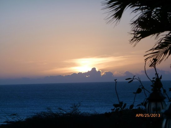 Amsterdam Manor Beach Resort: Sunset from California Lighthouse Restaurant