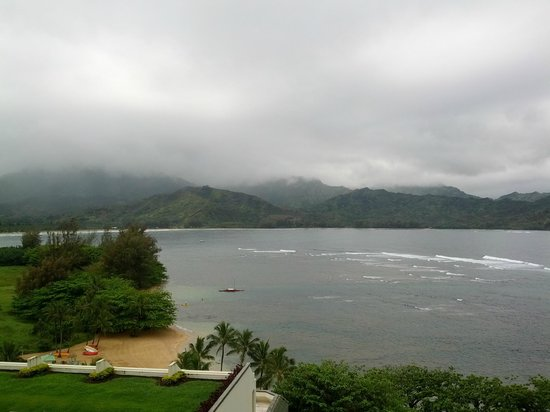 St. Regis Princeville Resort: View from Lobby Terrace