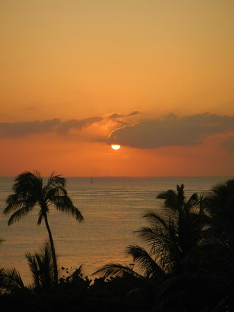 Waikiki Shore: Sunset From Our Lanai