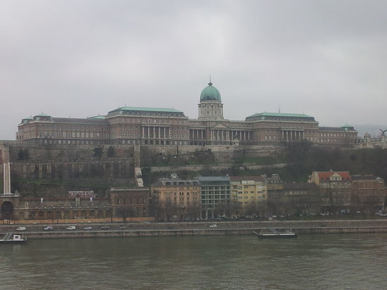 InterContinental Budapest: view across Danube