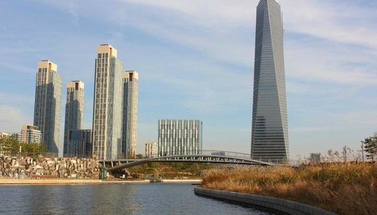 Incheon, Zuid-Korea: City view