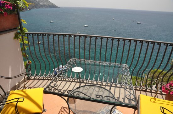 Hotel Miramare: Balkon