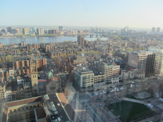 The Westin Copley Place: View from the 30th floor