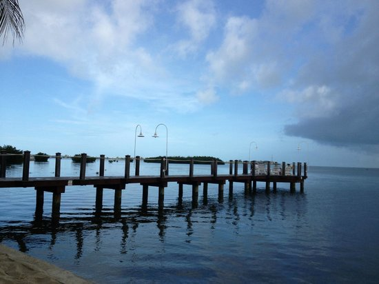 Key West Marriott Beachside Hotel: The dock is a nice place to watch the sunset.