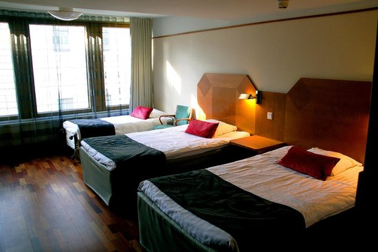 Scandic Marski Hotel : Room with additional bed