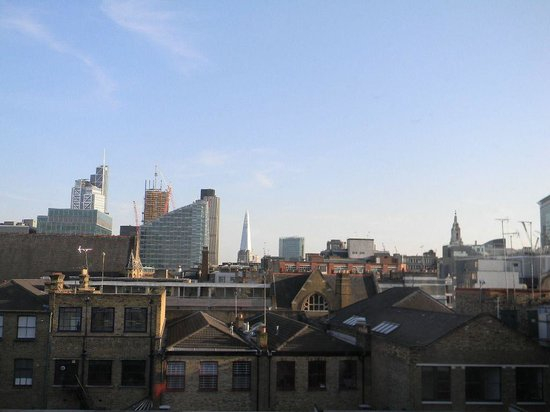 Hoxton Hotel : View from the room 