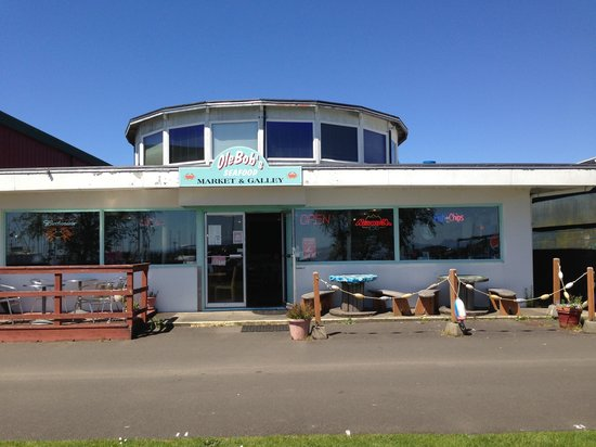 Ilwaco, WA: Just had an awesome lunch at OleBob's Seafood Market
