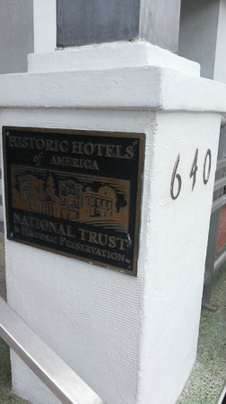 The Park Central: Historic hotel.